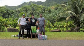 kahana field work